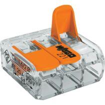 Vezeték összekötő 3x 0,2-4mm2 univerzális karos mt 50db/doboz