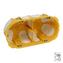 Gipszkarton szerelénydoboz 60mm 2-es gumis