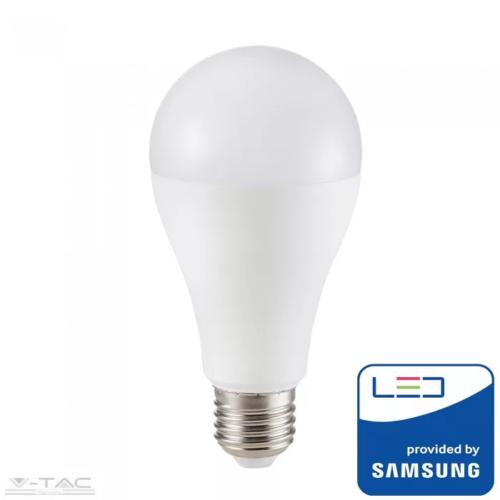 15W LED izzó Samsung chip E27 A65 3000K