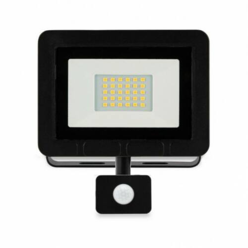 20W LED Mozgásérzékelős reflektor 6500K 1600lm