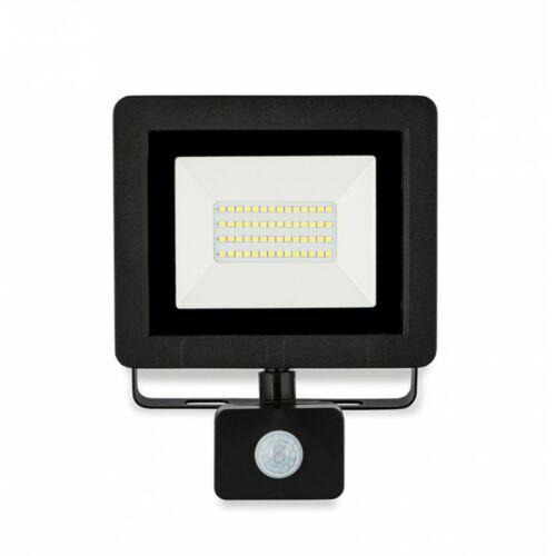 30W LED Mozgásérzékelős reflektor 4500K 2400lm