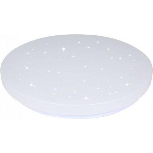 12W LED csillogó búrás kör mennyezeti lámpa állítható színhőmérséklet