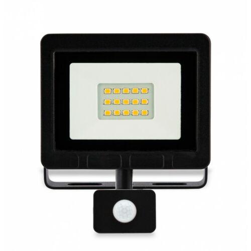 10W LED Mozgásérzékelős reflektor 6500K 800lm
