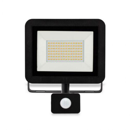50W LED Mozgásérzékelős reflektor 6500K 4000lm