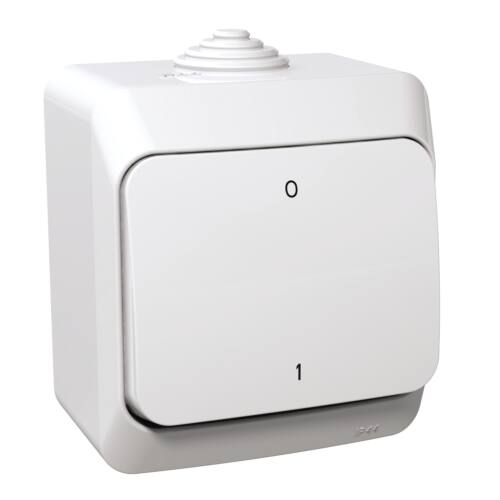 Cedar Plus Vízmentes kétpólusú kapcsoló 102 IP44 Schneider